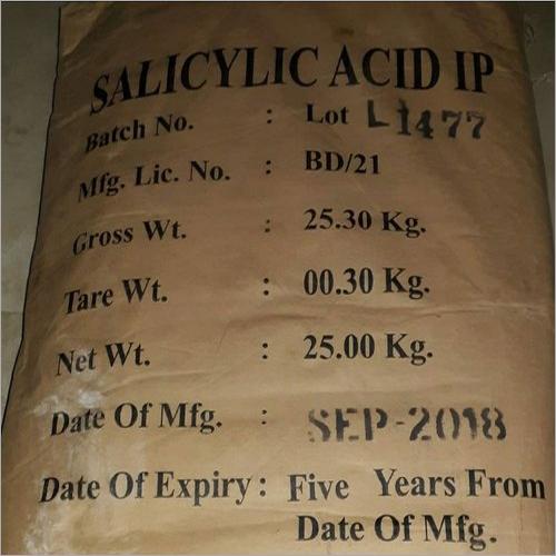 25 kg Salicylic Acid IP