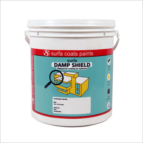 Surfa Damp Shield Waterproof Coating for Exterior Surfaces
