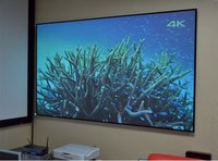 Lite series fix frame projection screen ( edge-free)
