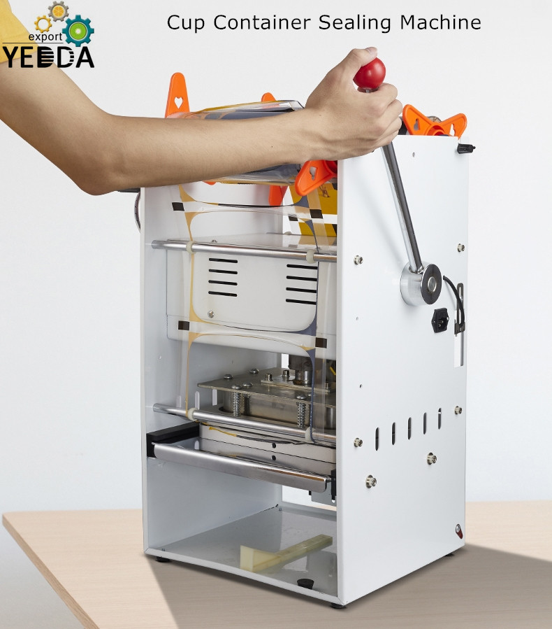 Fast Food Container Sealing Machine