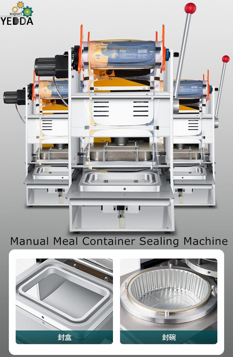 Fruit Salad Container Sealing Machine
