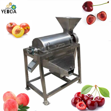 Double Channel Fruit Pulping Machine