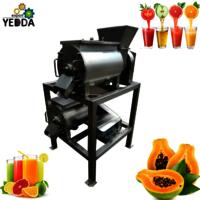 Industrial Commercial Mango Pineapple Papaya Pulping Machine