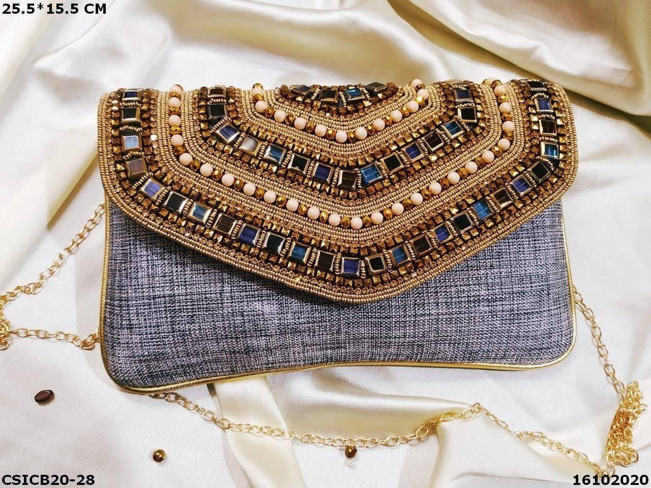 Trendy Bridal Clutch Bag