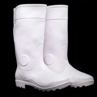 White Boots For Meat Industry
