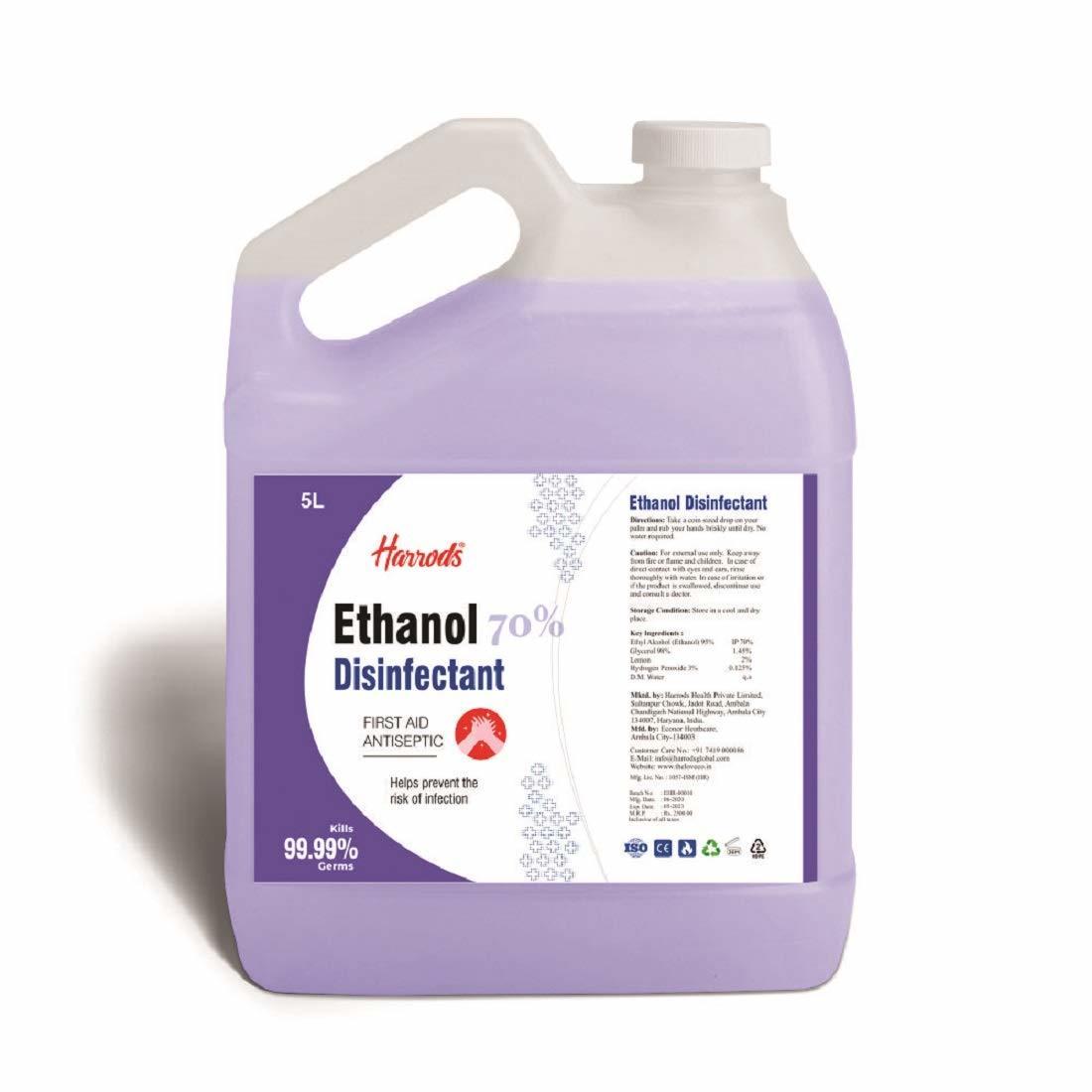 Ethanol Hand sanitiser 5ltr