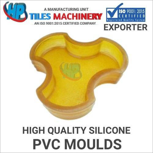 Yellow PVC Paver Block Mould