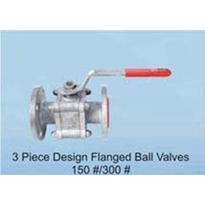 1,2,3 Pc Design Flanged Ball Valves