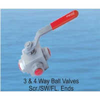 3 and 4 Way Ball Valves