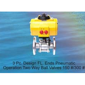 Pneumatic - Electrically - Motor Operated Ball Valves
