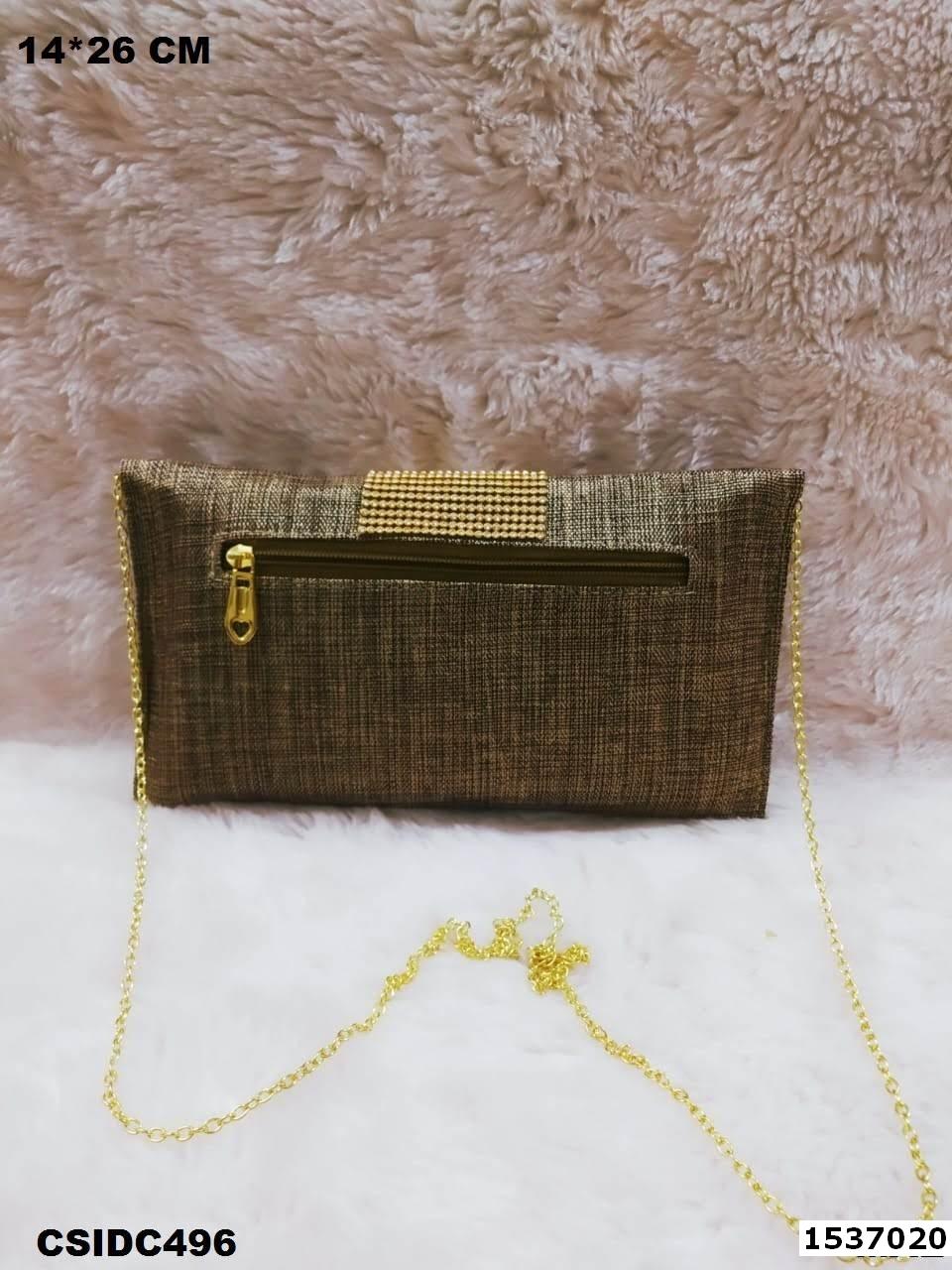 Jute Ethnic Clutch Bag