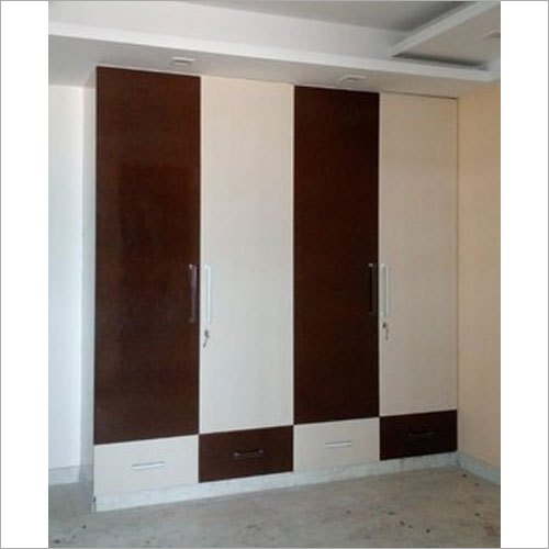 WPVC Wood Wardrobe