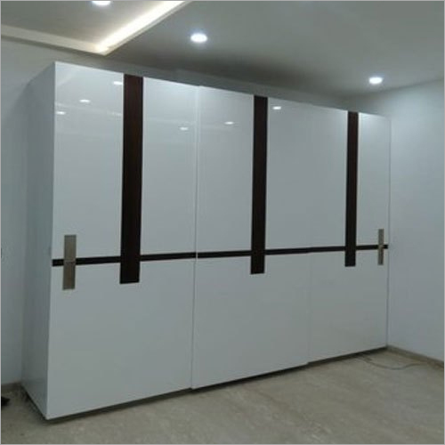 Mica Finish Wooden Wardrobe