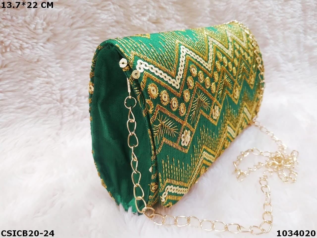 Classy Ethnic Clutch Bag
