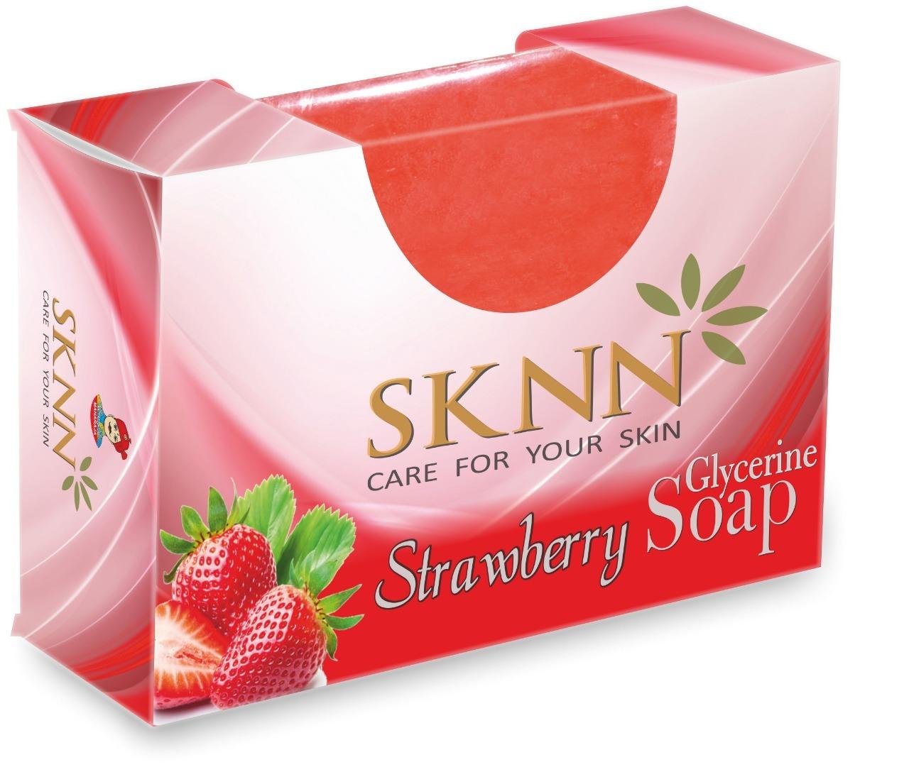 Strawberry Glycerine Soap