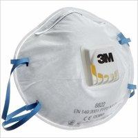 3m FFP2 8822 Dust / Mist Respirator Mask, White (Pack of 10)