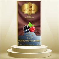 Vegan Milk Chocolate And Berries