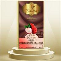 Vegan Milk Chocolate and Lychee