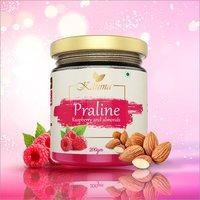 Praline Raspberry and Almonds Spread