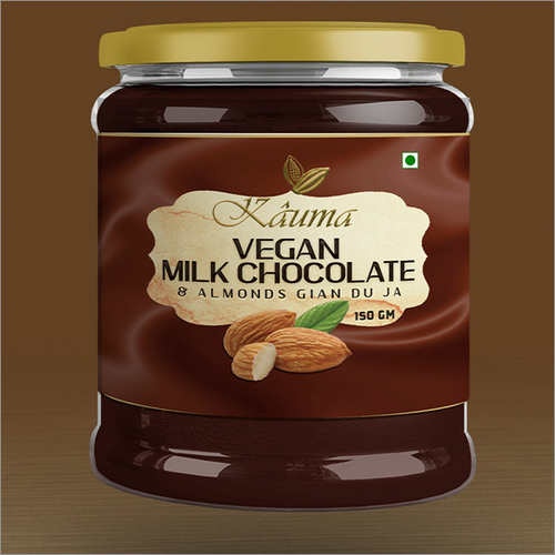 Vegan Milk Chocolate Coated Almond Gianduja