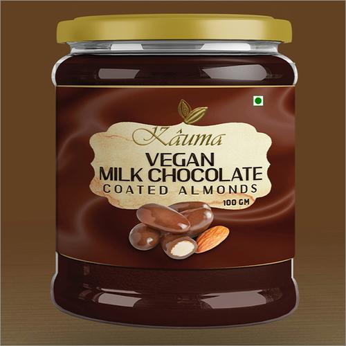 Vegan Milk Chocolate Coated Almonds