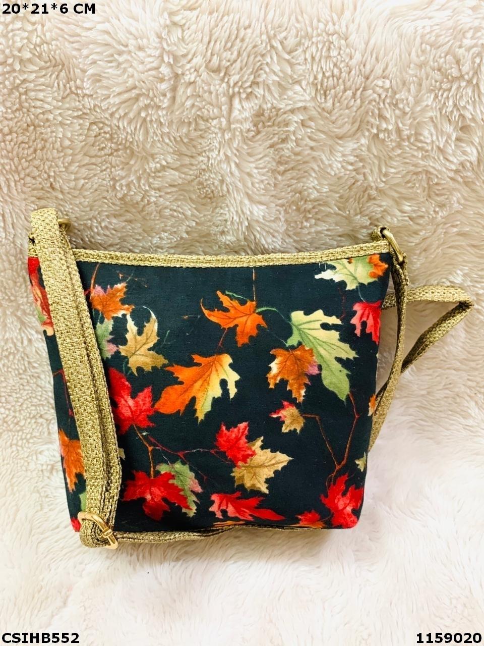 Trendy Ikkat Sling Bag