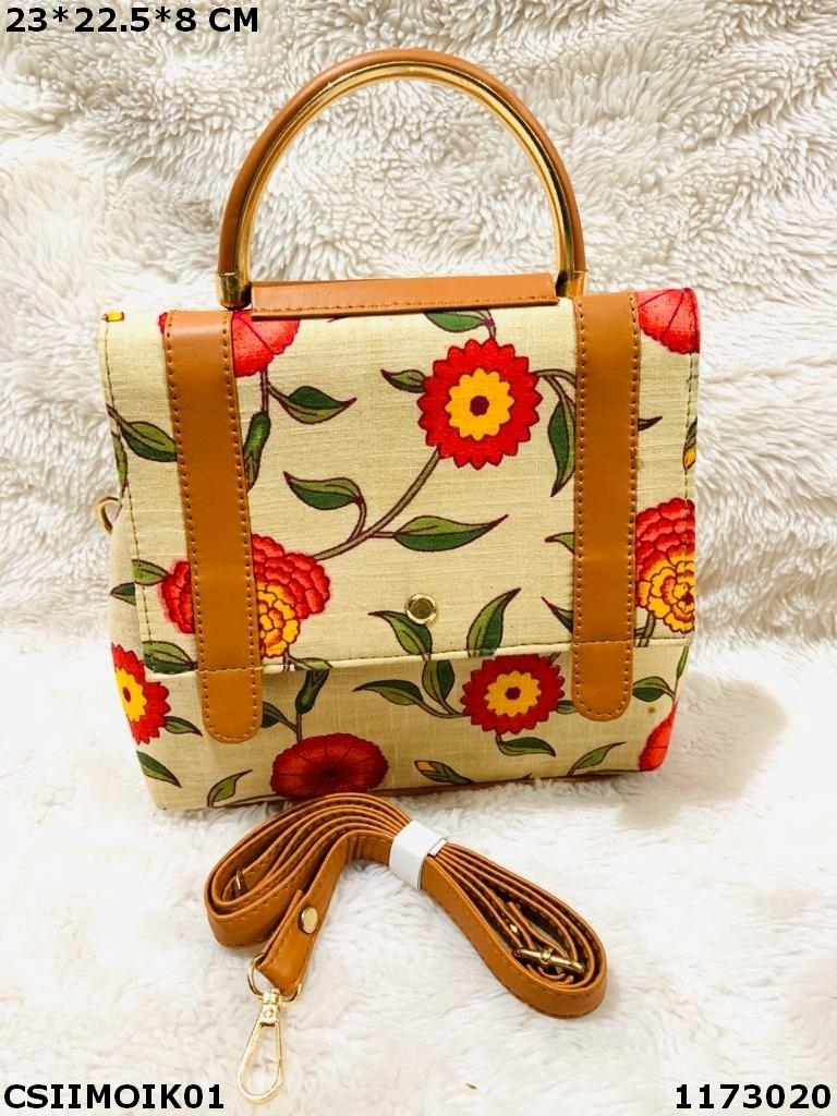 Exclusive Ikkat Sling Bag