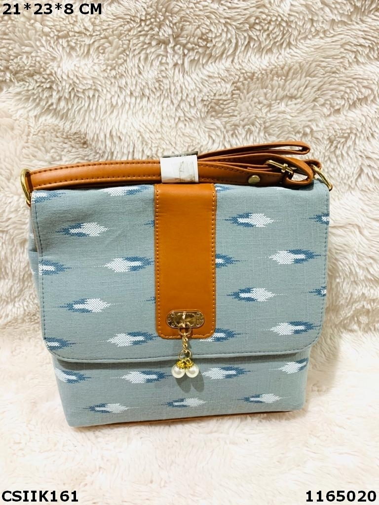 Designer Ikkat Sling Bag