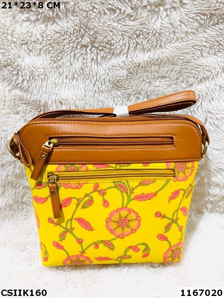 Classy Ikkat Sling Bag