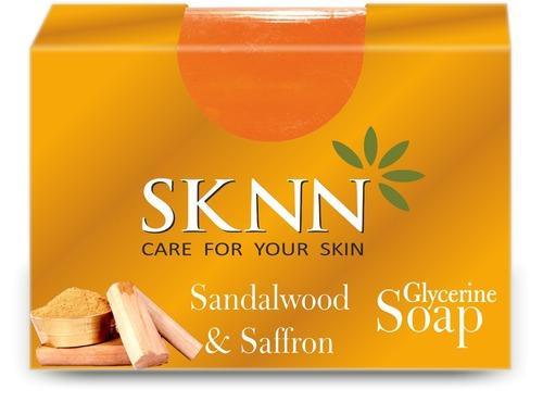 Sknn Sandalwood & Saffron Soap