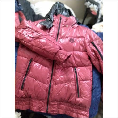 Used mens parka jacket