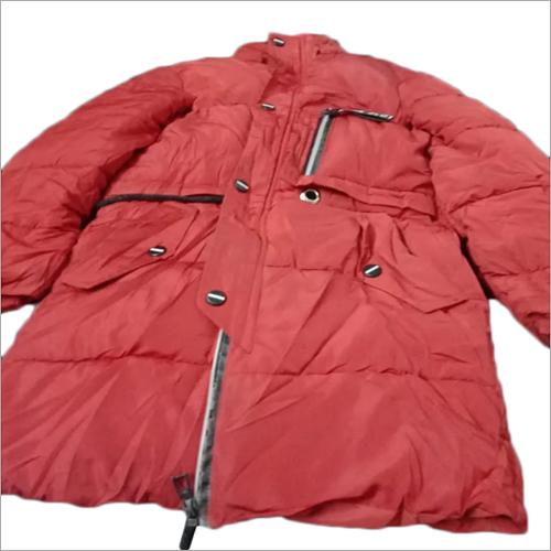 Ladies & gents used parka jacket
