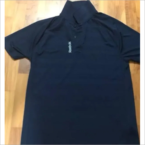 Mens Used Polo Neck T-Shirt