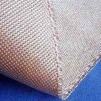 0.8mm thickness HT800 Heat treated (Caramelized) fiberglass fabric