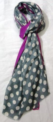 Rayon Polka Dot Printed Scarves