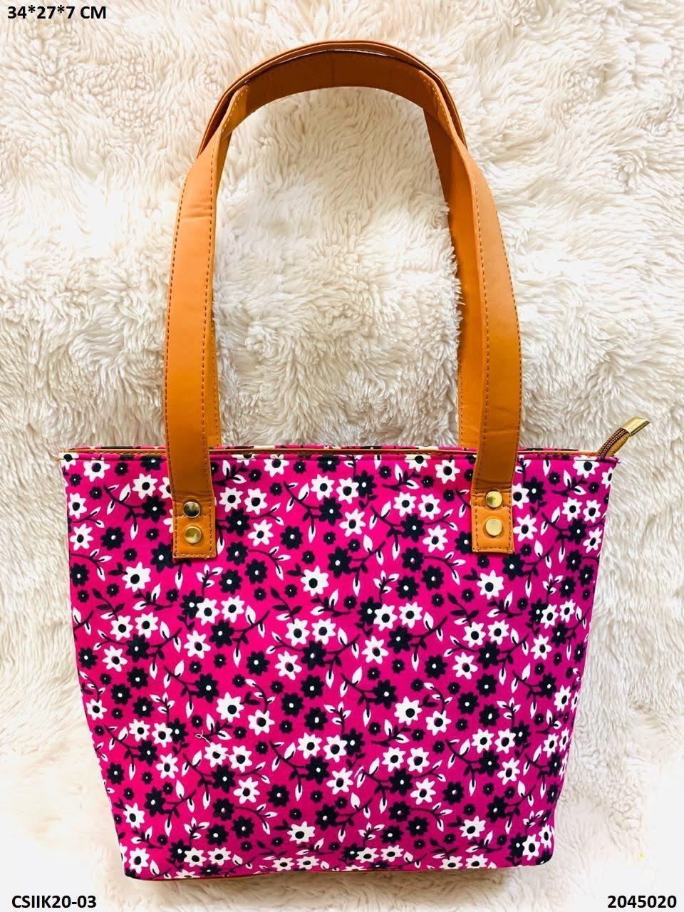 Exclusive Ikkat Hand Bag