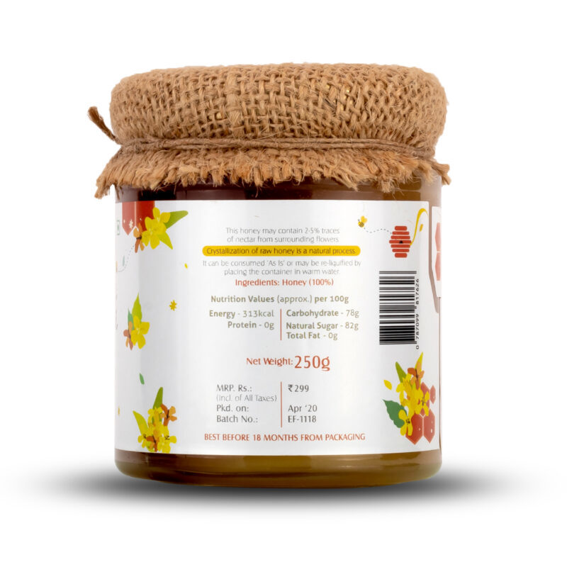 Natural Mustard Honey 250gram