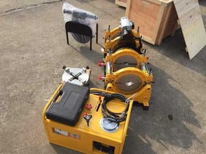 Hdpe 315mm Hydraulic Pipe Jointing Machine Semi Automatic Complete Set