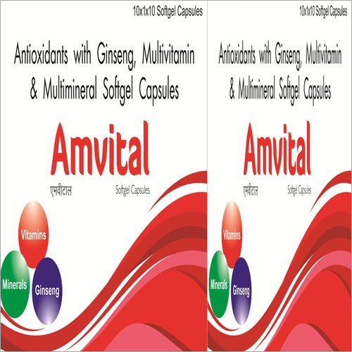 Antioxidants With Ginseng Multivitamin and Multimineral Capsules