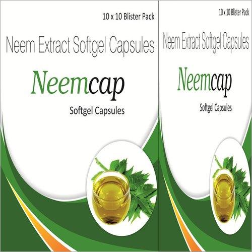 Neem Extract Softgel Capsules