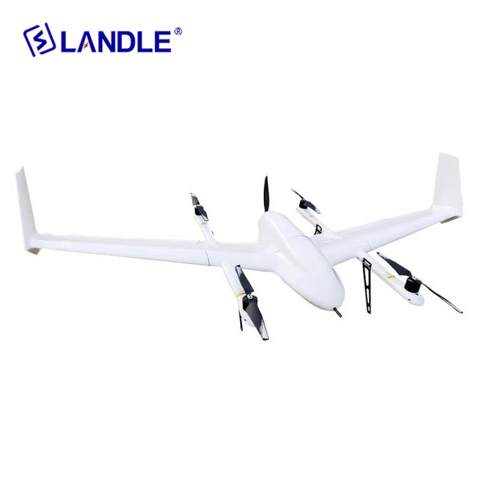 Ct-05 Long Distance Fixed Wing Vtol Hybrid Drone For Surveying And Inspection