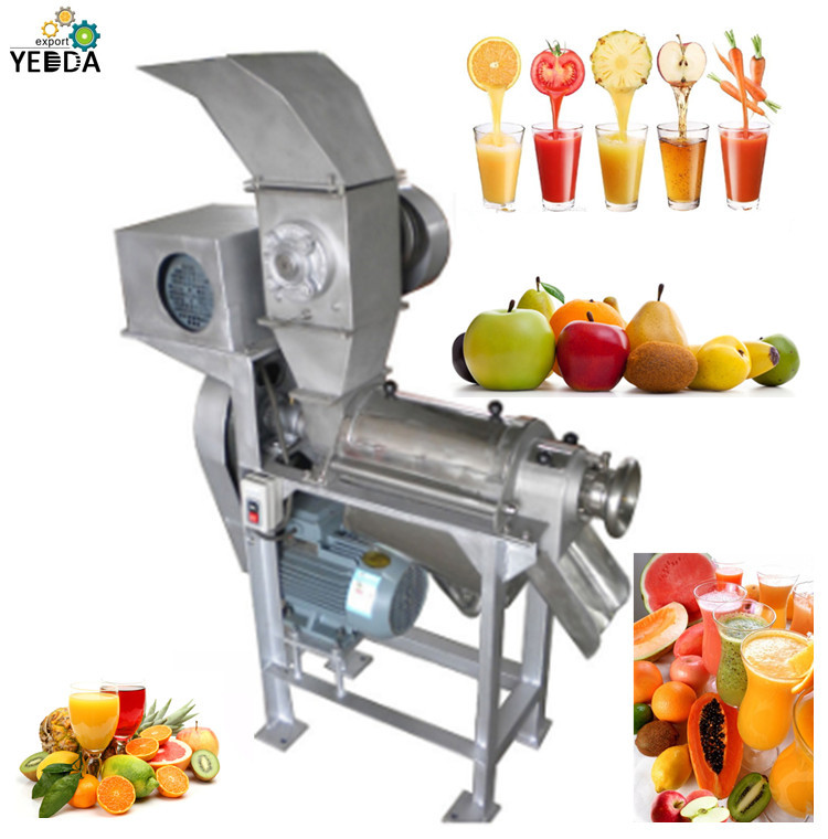 Automatic Fruit Vegetable Pulping Machine