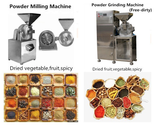 Dried Garlic Powder Grinding Machine