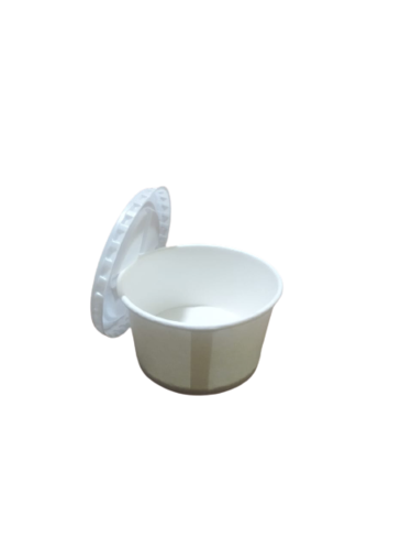 100ml Paper Container With Pet  Lid