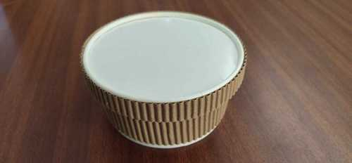 180ml Paper Ripple Container With Lid