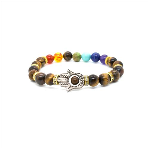 7 Chakra Charms Bracelet