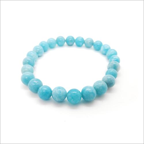 Aquamarine Dyed Bracelet