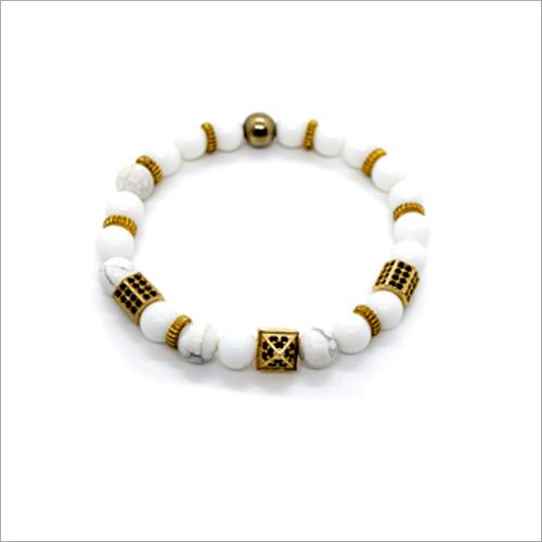 Howlite Charms Bracelet