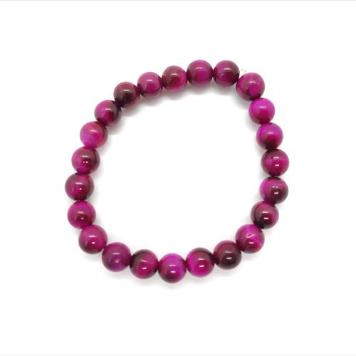 Pink Tiger Eye Bracelet