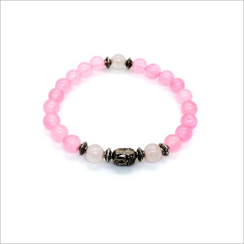 Rose Quartz Charms Bracelet